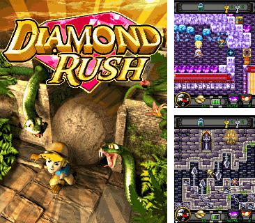 In addition to the game Alien shooter for mobile phone, you can download mobile game Diamond rush for free.