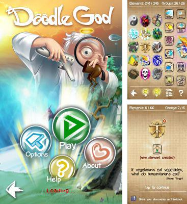 In addition to the game The Sims 3: World Adventures for mobile phone, you can download mobile game Doodle God for free.