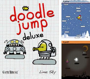 In addition to the game World strikers for mobile phone, you can download mobile game Doodle Jump Deluxe for free.
