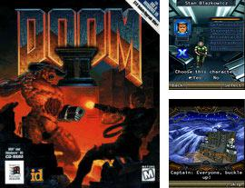 In addition to the game Two Cars for mobile phone, you can download mobile game Doom II RPG for free.
