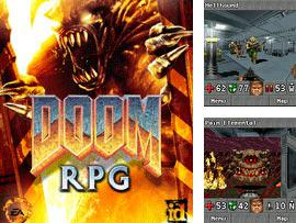 In addition to the game Ronaldinho Gaucho: Goal puzzle for mobile phone, you can download mobile game Doom RPG mobile for free.