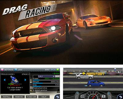 In addition to the game Trip trap for mobile phone, you can download mobile game Drag racing for free.