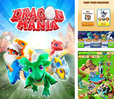 In addition to the game Diamond miner for mobile phone, you can download mobile game Dragon mania for free.