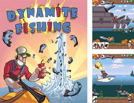 Download free mobile game: Dynamite Fishing - download free games for mobile phone.