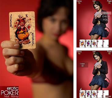 Download free mobile game: Erotic poker feat Nancy - download free games for mobile phone.
