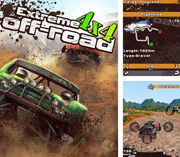 In addition to the game The amazing Spider-man: Webslinger for mobile phone, you can download mobile game Extreme 4x4 Off-Road for free.