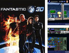In addition to the game Darkest Fear for mobile phone, you can download mobile game Fantastic Four 3D for free.