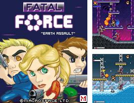 In addition to the game Fifa 2010: South Africa World Cup for mobile phone, you can download mobile game Fatal Force: Earth Assault for free.