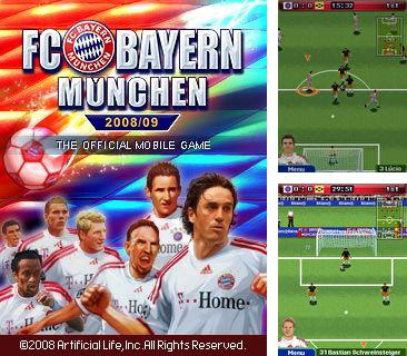 Download free mobile game: FC Bayern Munchen 2008/09 - download free games for mobile phone.