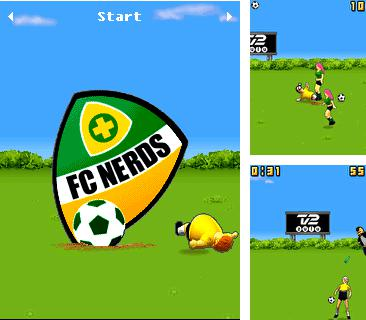 Download free mobile game: FC Nerds - download free games for mobile phone.
