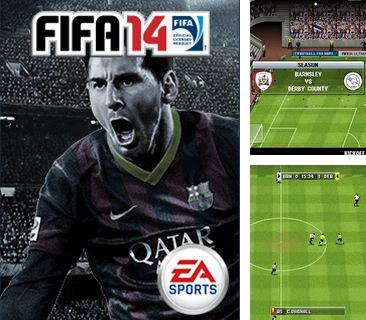 In addition to the game The last warrior for mobile phone, you can download mobile game FIFA 14 for free.