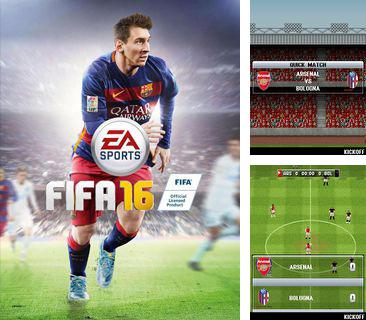 In addition to the game Angry granny for mobile phone, you can download mobile game FIFA 16 for free.