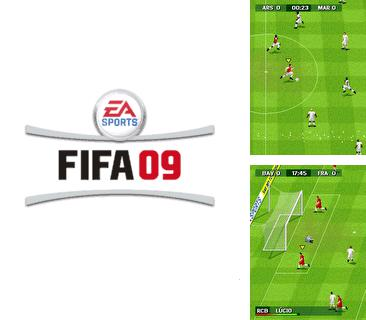 Download free mobile game: FIFA 2009 - download free games for mobile phone.