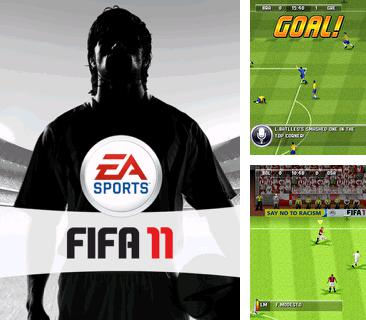 In addition to the game Flatout 3D for mobile phone, you can download mobile game FIFA 2011 for free.