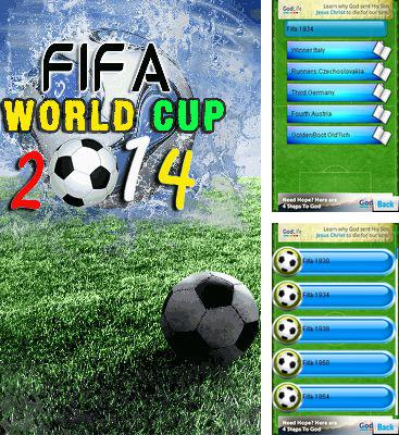 Download free mobile game: FIFA: World cup 2014 - download free games for mobile phone.