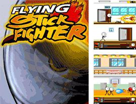 Download free mobile game: Flying stickfighter - download free games for mobile phone.