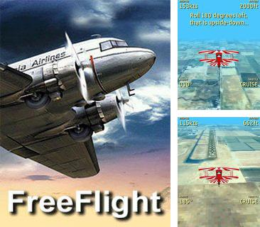 In addition to the game Brick mania for mobile phone, you can download mobile game Free Flight 3D for free.