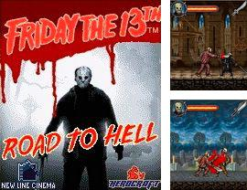 In addition to the game Burkozel for mobile phone, you can download mobile game Friday the 13 for free.
