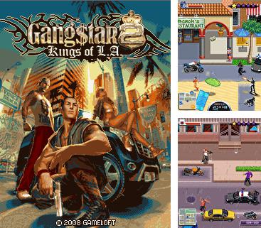 In addition to the game Age of rock: The puzzle quest for mobile phone, you can download mobile game Gangstar 2 Kings of L.A. for free.