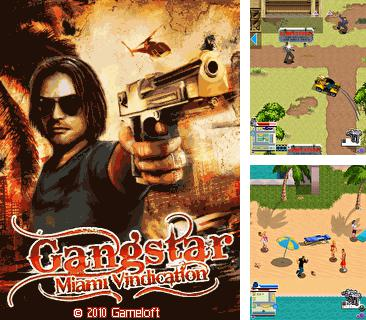 In addition to the game Flatout 3D for mobile phone, you can download mobile game Gangstar 3: Miami Vindication for free.