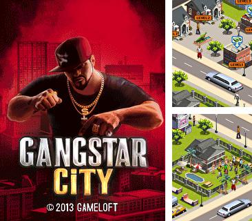 In addition to the game Bomberman Atomic 3D for mobile phone, you can download mobile game Gangstar city for free.