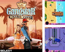 In addition to the game Liquid crystal for mobile phone, you can download mobile game Gangstar: Crime City for free.