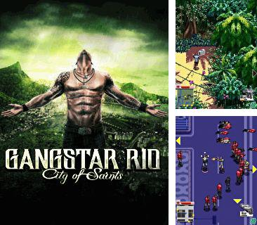 In addition to the game Voodoo for mobile phone, you can download mobile game Gangstar Rio City of Saints for free.