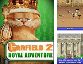 Download free mobile game: Garfield 2: Royal Adventure - download free games for mobile phone.