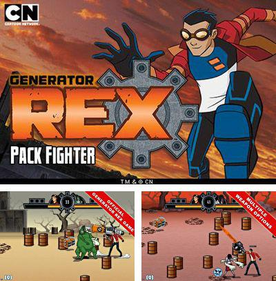 Download free mobile game: Generator Rex: Pack fighter - download free games for mobile phone.