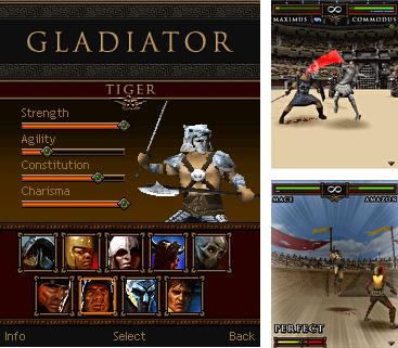 In addition to the game Spider Wars for mobile phone, you can download mobile game Gladiator for free.