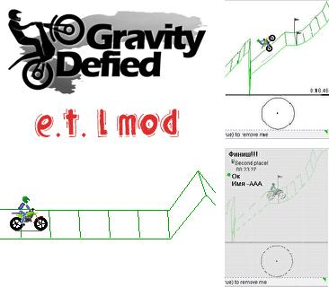 In addition to the game The world of poker for mobile phone, you can download mobile game Gravity Defied E.T.L mod for free.