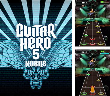 In addition to the game Masters of Dice for mobile phone, you can download mobile game Guitar Hero 5 Mobile for free.