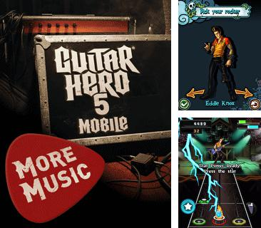 In addition to the game Poruchik Rzhevsky for mobile phone, you can download mobile game Guitar Hero 5 Mobile: More Music for free.