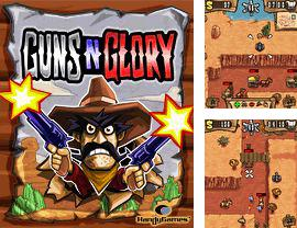 In addition to the game Les conards for mobile phone, you can download mobile game Guns'n'Glory for free.