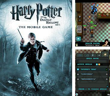 Zusätzlich zum Spiel Phineas und Ferb für Ihr Telefon, können Sie auch Harry Potter und die Heiligtümer des Todes Teil 1, Harry Potter and the Deathly Hallows Part 1 kostenlos herunterladen.