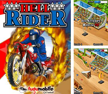 Download free mobile game: Hell Rider - download free games for mobile phone.