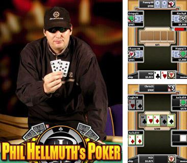 Download free mobile game: Hellmuth's Holdem Poker - download free games for mobile phone.