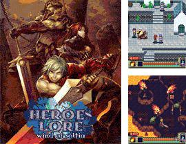 In addition to the game Hungry Man for mobile phone, you can download mobile game Heroes Lore: Wind of Soltia for free.