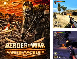 In addition to the game Soccer run 2014 for mobile phone, you can download mobile game Heroes of War: Sandstorm 3D for free.