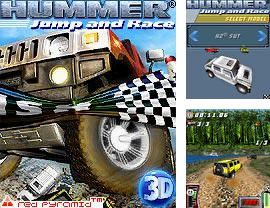 In addition to the game Bombay Rickshaw  Two Way Nightmare for mobile phone, you can download mobile game Hummer: Jump And Race for free.
