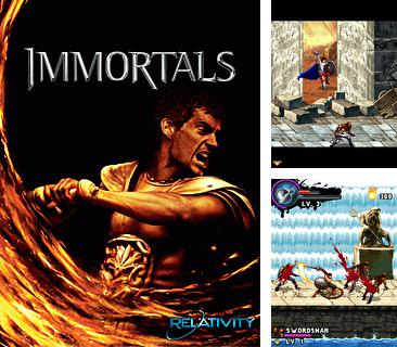 In addition to the game The ninja jumping: Cut fruit for mobile phone, you can download mobile game Immortals for free.