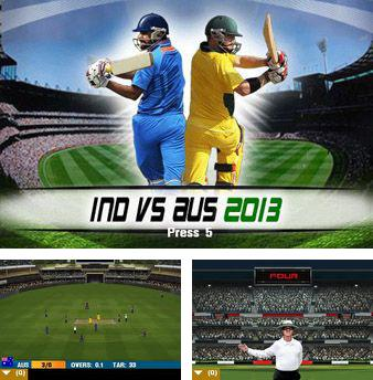 In addition to the game World Snooker Championship 09 3D for mobile phone, you can download mobile game IND vs AUS 2013 for free.