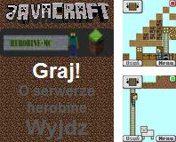 Download free mobile game: JavaCraft - download free games for mobile phone.