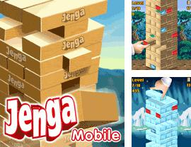 In addition to the game Poruchik Rzhevsky for mobile phone, you can download mobile game Jenga for free.