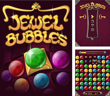 In addition to the game Sponge Bob Paparazzi Parade for mobile phone, you can download mobile game Jewel Bubbles for free.