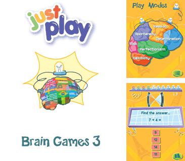 In addition to the game JmeCraft: Minecraft for mobile phone, you can download mobile game Just play: Brain games 3 for free.