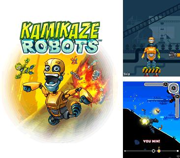 In addition to the game Tetris 2012 for mobile phone, you can download mobile game Kamikaze Robots for free.