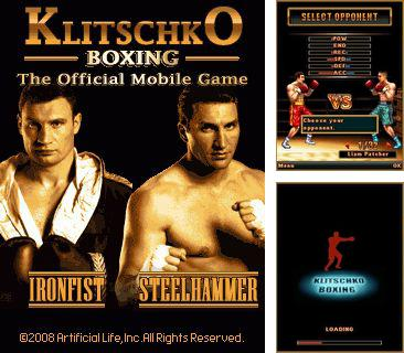 Klitschko boxing java game for mobile. Klitschko boxing free.
