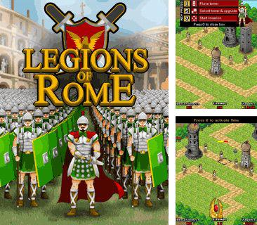 In addition to the game Asphalt Nitro for mobile phone, you can download mobile game Legions of Rome for free.