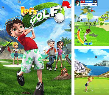 Download free mobile game: Let's Golf - download free games for mobile phone.